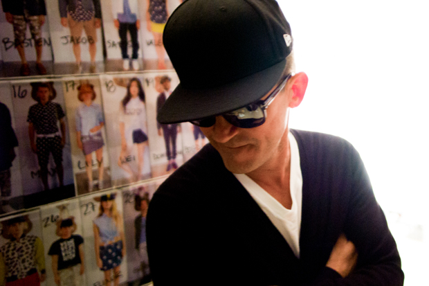 Mark McNairy 2013 Spring/Summer Backstage Visuals