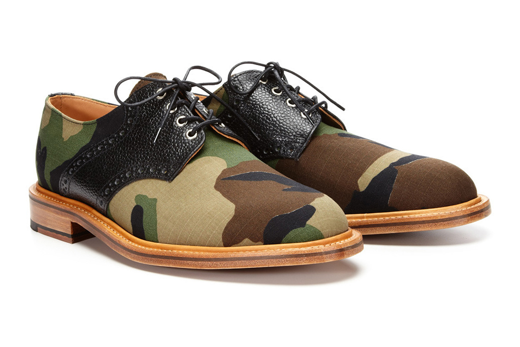 Mark McNairy Woodland Camo Derby Lace-Ups for Park & Bond