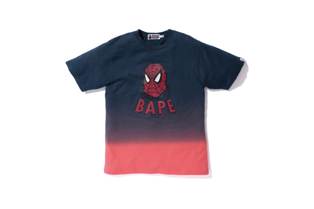 marvel comics x a bathing ape 2012 fall winter spider man 2nd drop