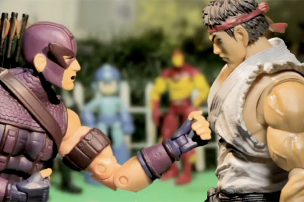Marvel Super Heroes: What The--?! Marvel vs. Capcom!