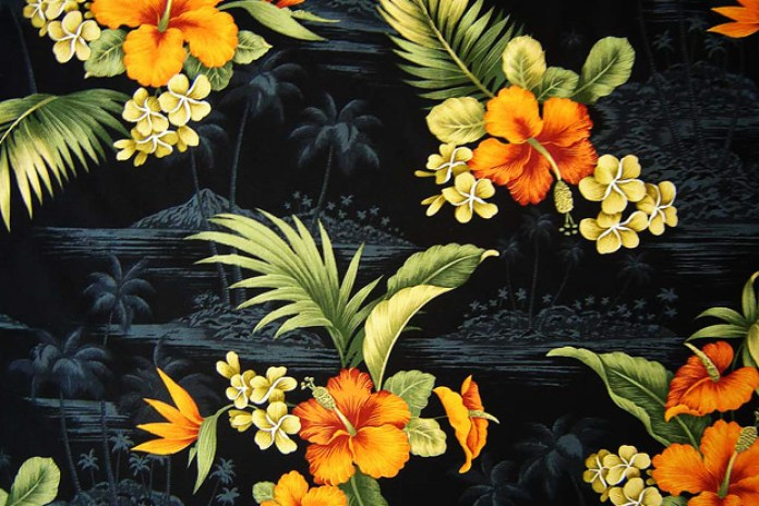 Materials and Patterns: Hawaiian Print
