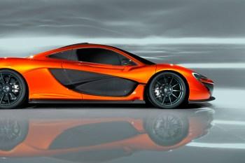 McLaren Reveals New P1 Design Study