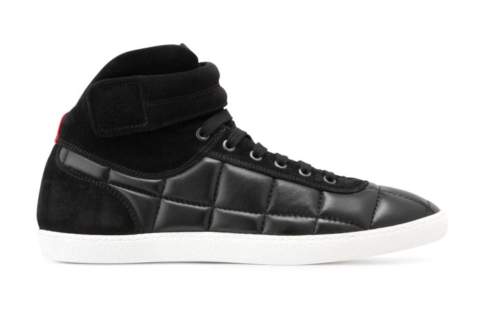 Moncler Gamme Bleu Leather Sneaker