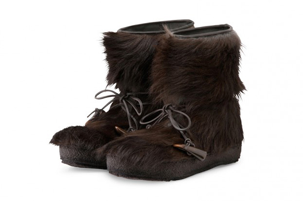 moncler kills chewbacca turns his feet into designer boots