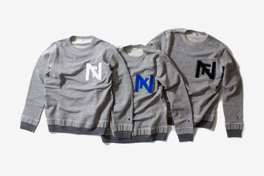 nanamica x Champion Sweat Suits Collection
