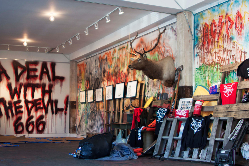 """Neckface """"A Deal With the Devil"""" @ One Grand Gallery"""
