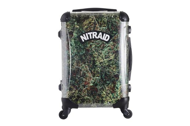 """Nitraid """"Dope Forest"""" Luggage"""