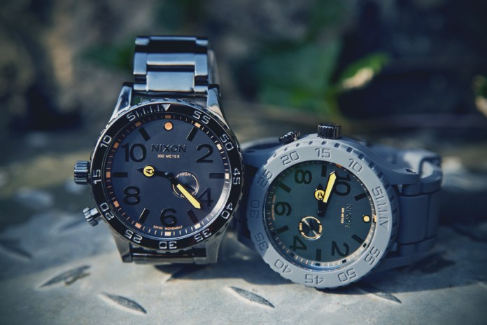 "Nixon The 51-30 ""Rubber"" & ""Tide"""