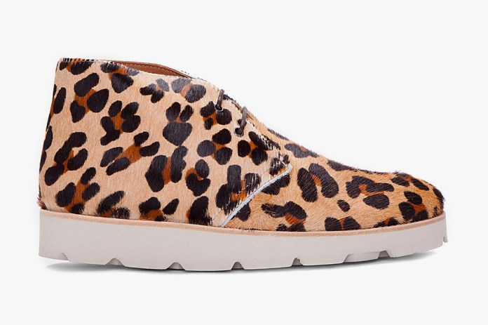 Opening Ceremony Leopard Print Calf-Hair M6 Shoes