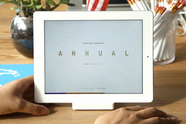 Opening Ceremony Unveils iPad App in Conjunction with OC Annual Magazine