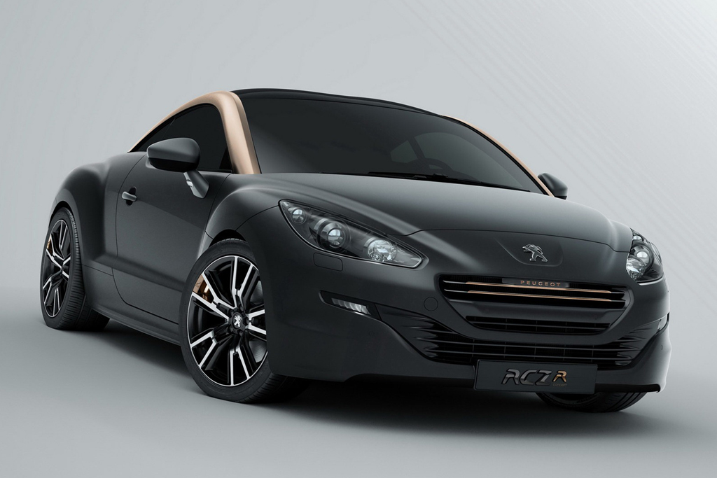 peugeot reveals new rcz and rcz r