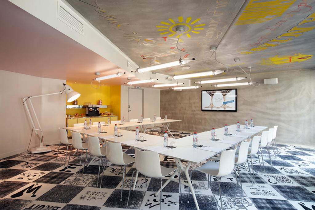 philippe starck designs the interior for marseilles mama shelter hotel