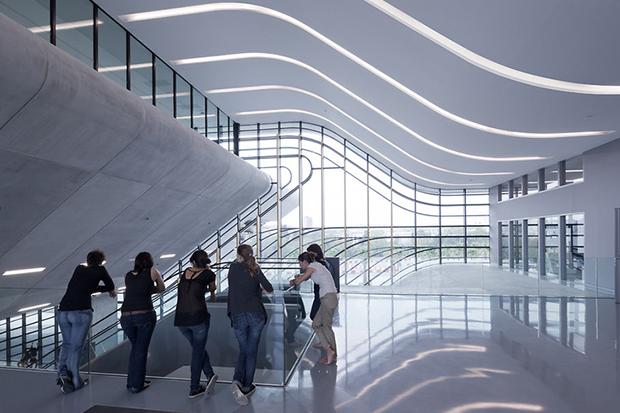 Pierres Vives Building by Zaha Hadid