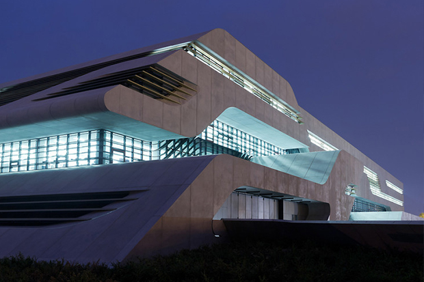 Pierres Vives Building by Zaha Hadid