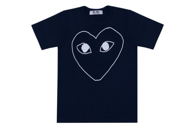 play comme des garcons navy collection