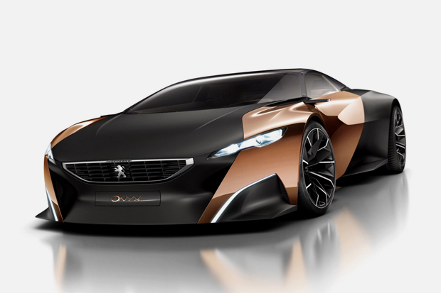 Peugeot's New Onyx Supercar Concept Revealed