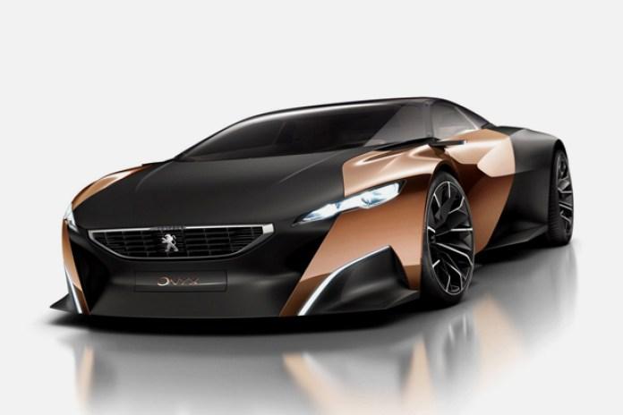 Peugeot's New Onyx Supercar Concept Revealed