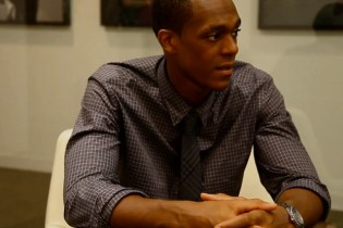Rajon Rondo of the Boston Celtics Interns at GQ