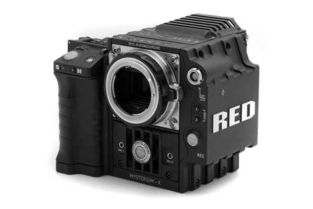 red epic m monochrome