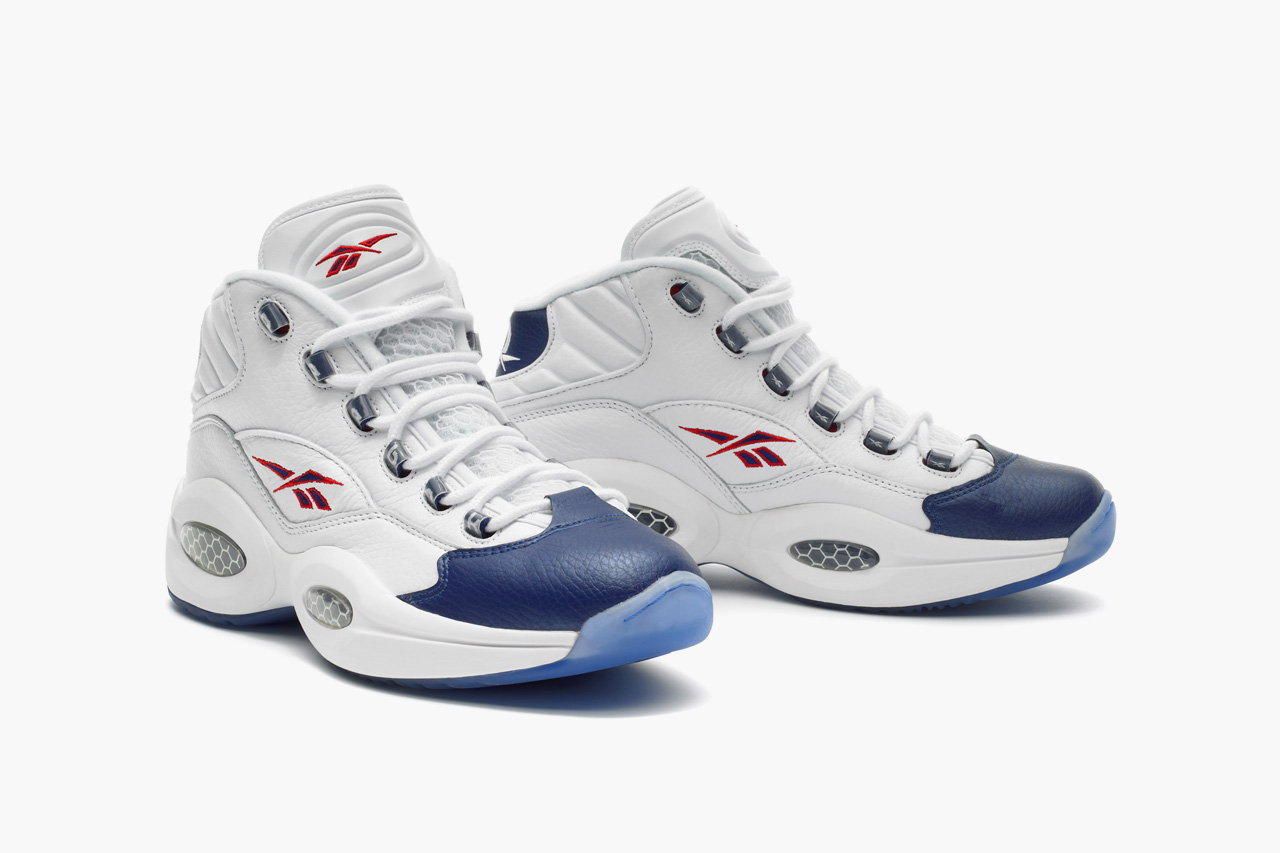Reebok Question Mid White/Blue
