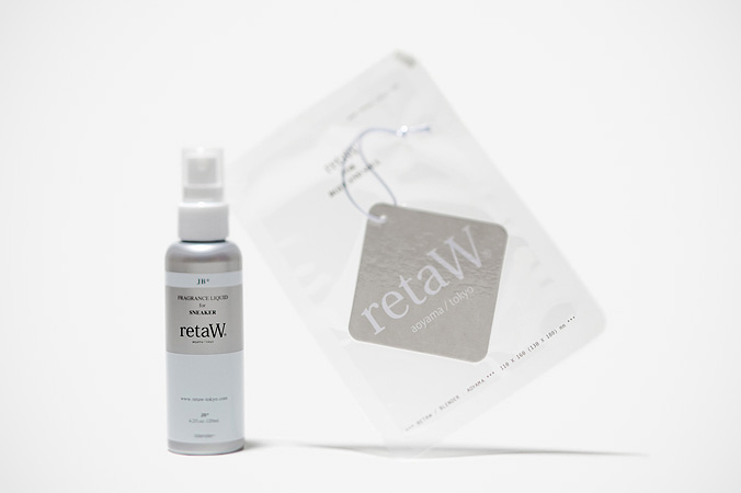 retaW Fragrance Sneaker Spray and Fragrance Car Tag