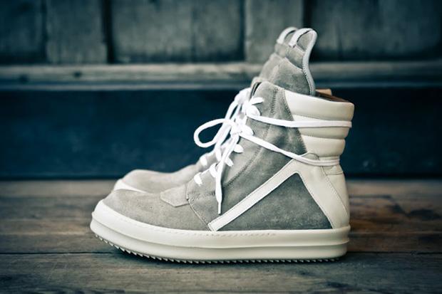 rick owens 2012 fall winter geobasket sneaker