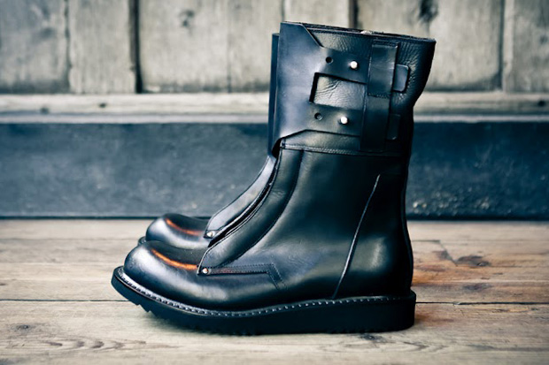 rick owens 2012 fall winter military boot