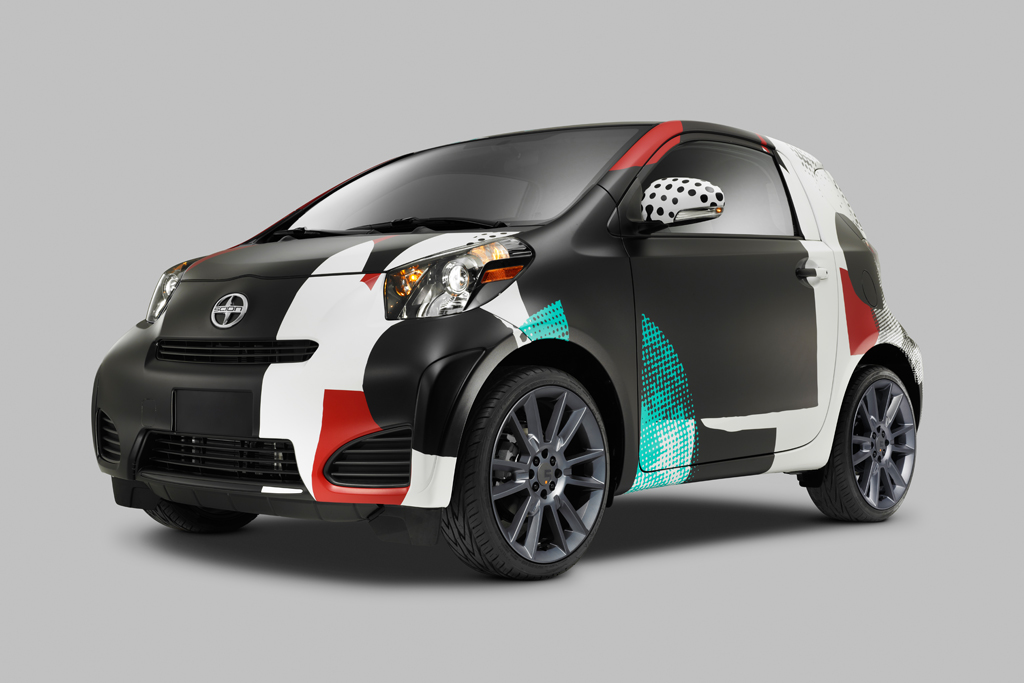 """Scion Celebrates 10 Years of Supporting the Arts with """"Live It. Learn It. Love It."""" Art Cars"""