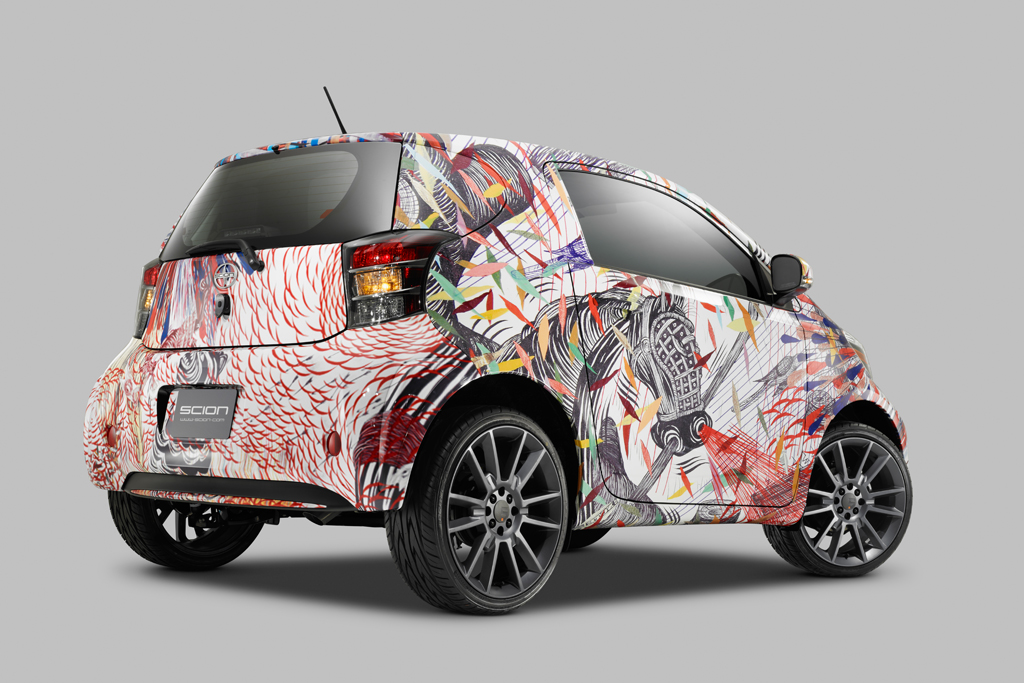 scion celebrates 10 years in supporting the arts with live it learn it love it art cars