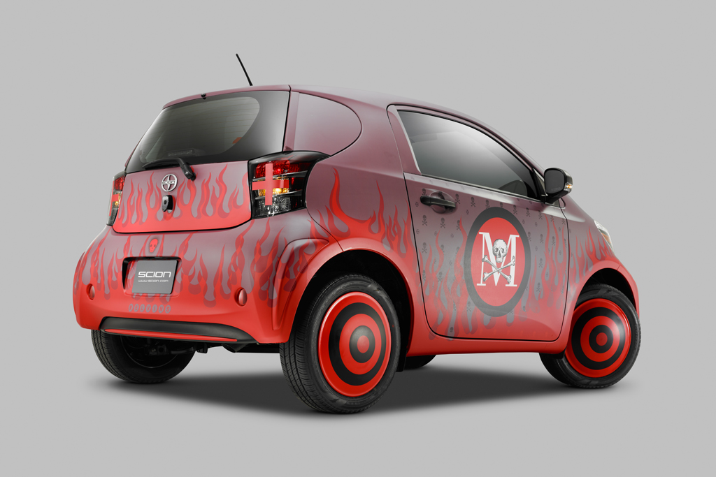 "Scion Celebrates 10 Years of Supporting the Arts with ""Live It. Learn It. Love It."" Art Cars"