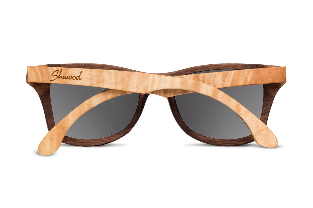 Shwood Limited Edition Two-Tone Canby Sunglasses