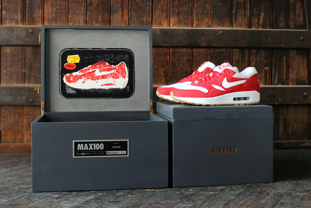 Social Status x MAX100 x Nike Air Max 1 Last Five Shoes Revealed