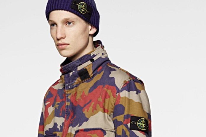 Stone Island 2012 Fall/Winter Camouflage Outerwear Preview