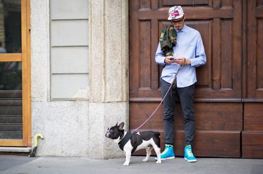 Streetsnaps: Milan Fashion Week 2013 Spring/Summer Part 1