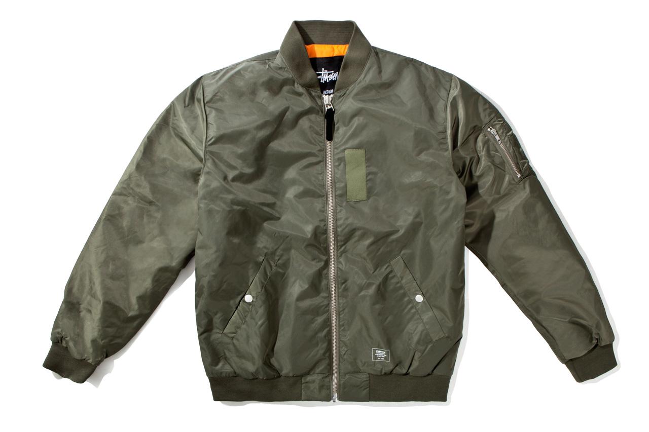 stussy 2012 fall winter mfg ma1 jacket