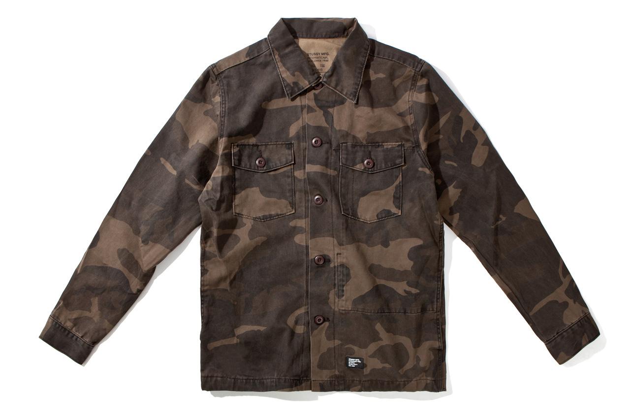 Stussy 2012 Fall/Winter MFG Troops Shirt