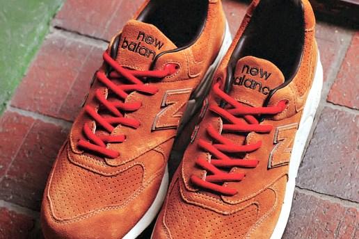 "Stussy x realmadHECTIC x New Balance ML999 ""Selle Francais"" Sneaker"