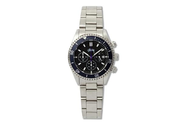"""Stussy ZOZO CHAPT 5th Anniversary Chronometer """"CREWSADER"""" Watch"""