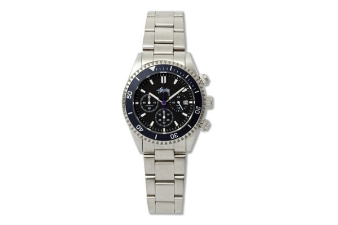 "Stussy ZOZO CHAPT 5th Anniversary Chronometer ""CREWSADER"" Watch"