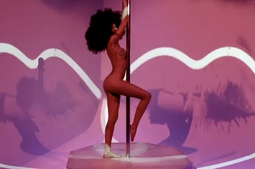 Supermodel Chanel Iman Hops On the Stripper Pole