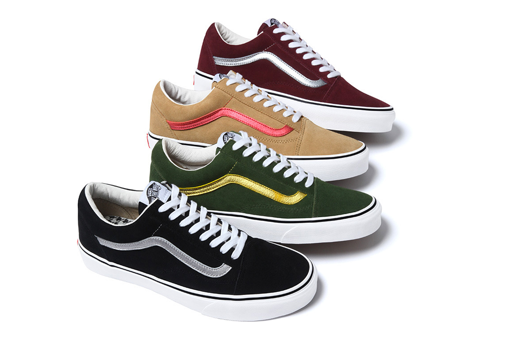 Supreme x Vans 2012 Fall/Winter Collection