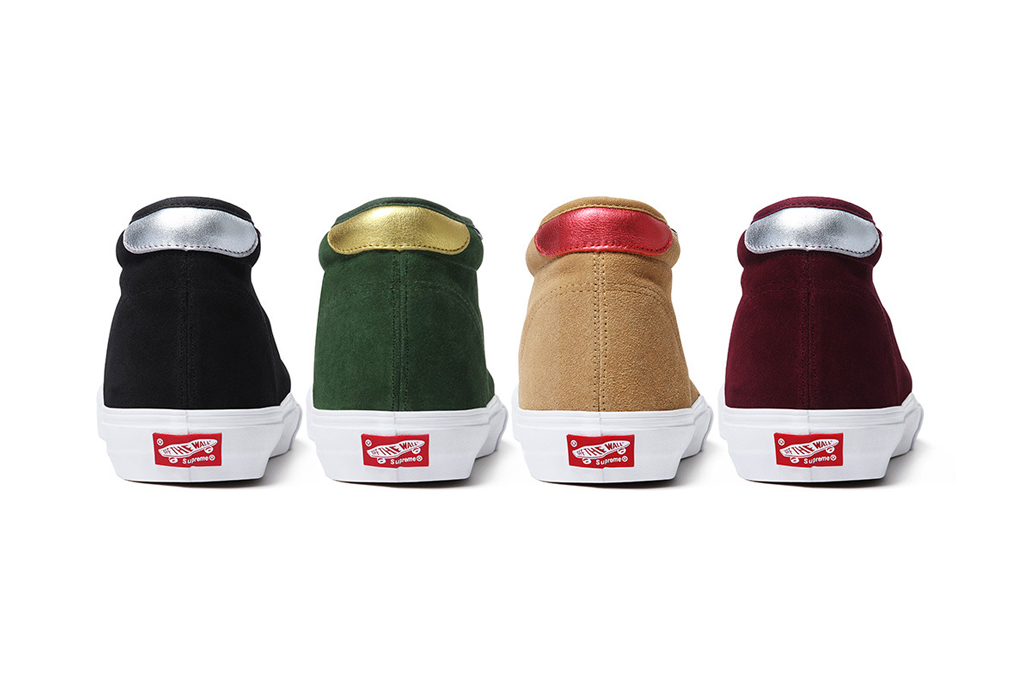 supreme x vans 2012 fall winter collection