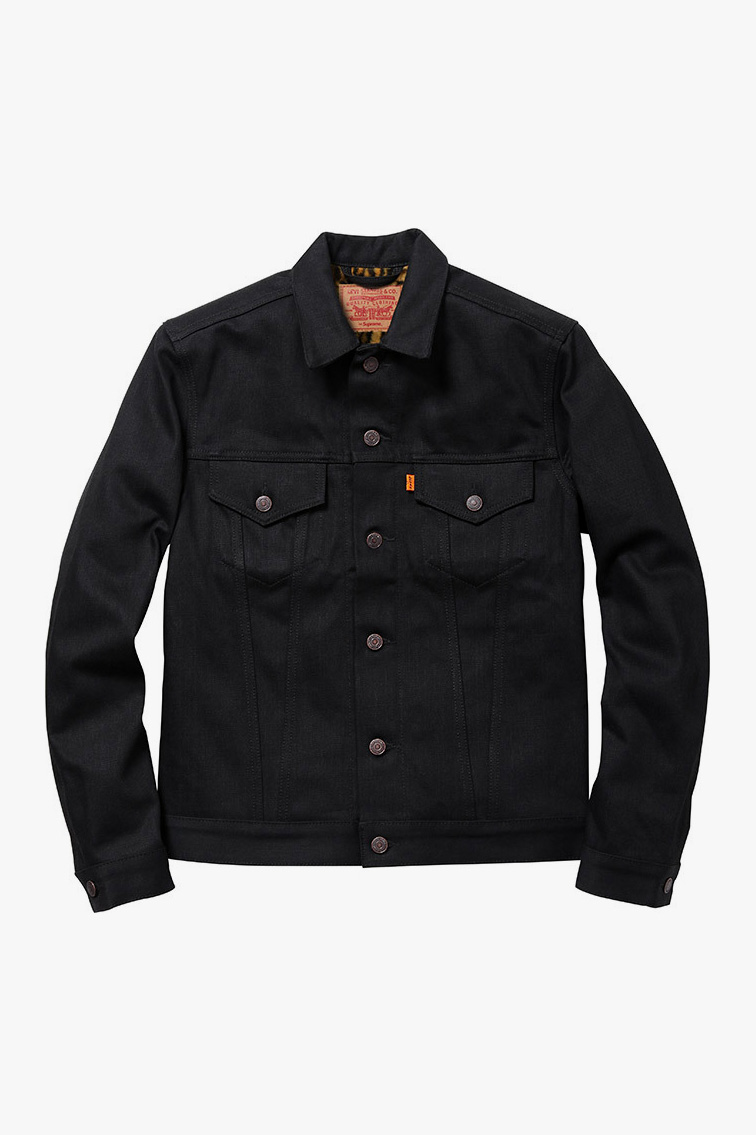 supreme x levis 2012 fall winter capsule collection