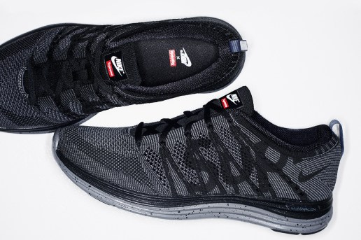 Supreme x Nike Flyknit Lunar 1+
