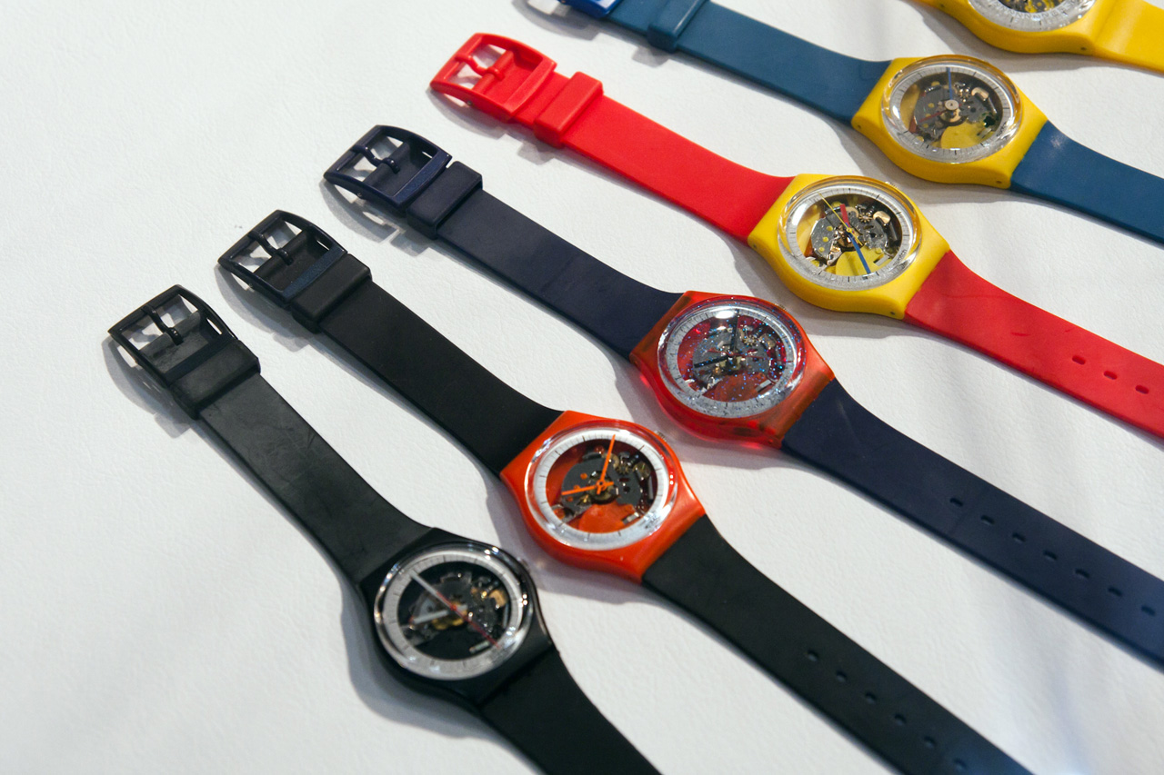 """Swatch """"The Blum Collection"""" Exhibition @ Park Avenue Armory"""