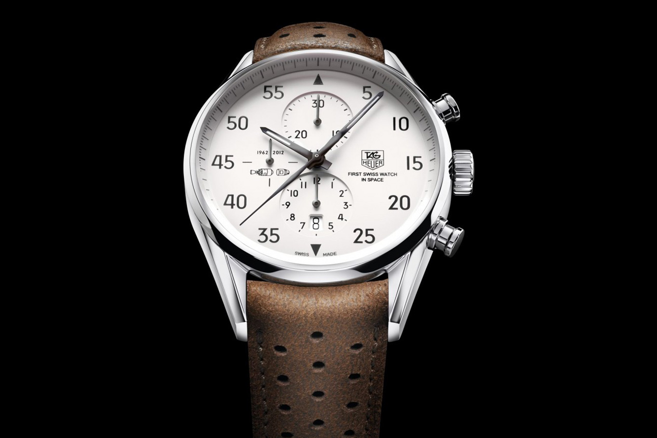 """TAG Heuer Carrera 1887 """"SpaceX"""" Watch"""