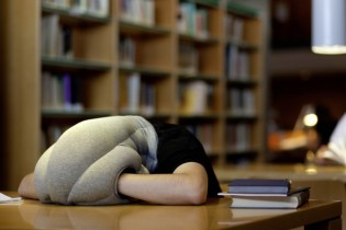 Take a Nap Anywhere with the OSTRICH PILLOW