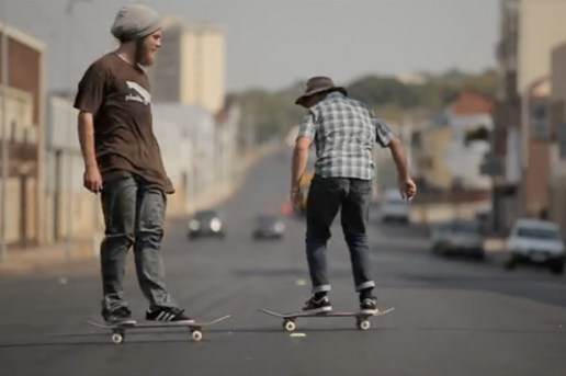 The adidas Skateboarding Team Travel to Durban South Africa
