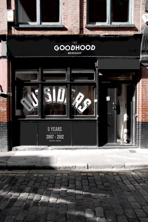 The Goodhood Store 5th Anniversary Pop-Up Space