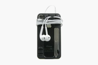 The iPhone Case with a USB Drive, Multi-Tool, Headphone Clip and Kickstand